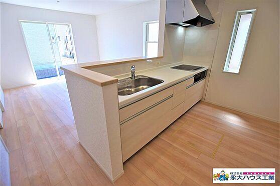 新築一戸建て-多賀城市大代4丁目 キッチン