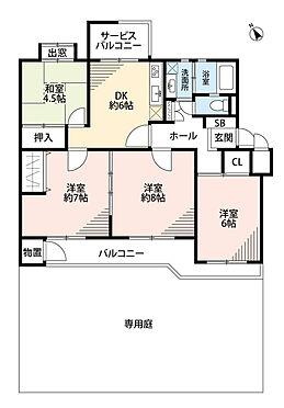 マンション(建物一部)-川崎市宮前区けやき平 間取り