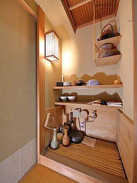 中古マンション-品川区八潮5丁目 茶室に入る手間にに水屋がございます。