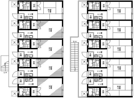 アパート-中野区若宮2丁目 利回り9.57%で満室賃貸中です。
