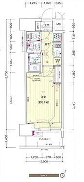 マンション(建物一部)-神戸市兵庫区新開地3丁目 間取り