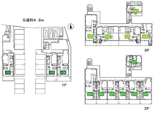 マンション(建物全部)-豊田市本新町7丁目 間取り