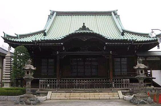 アパート-板橋区熊野町 【寺院・神社】重林寺まで496m