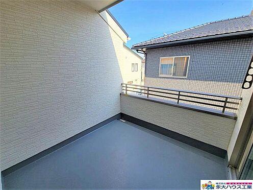 戸建賃貸-大崎市古川鶴ケ埣字新江南 バルコニー