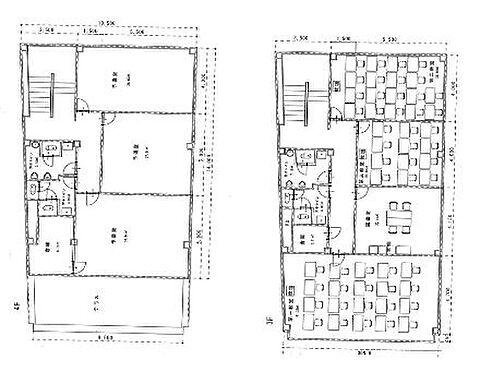 ビル(建物全部)-小山市城山町2丁目 3-4F間取図