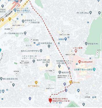 店舗・事務所・その他-横浜市保土ケ谷区岩井町 地図