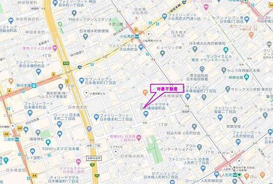 収益ビル-中央区日本橋堀留町1丁目 地図