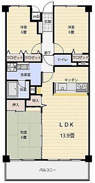 マンション(建物一部)-姫路市豊富町豊富 間取り