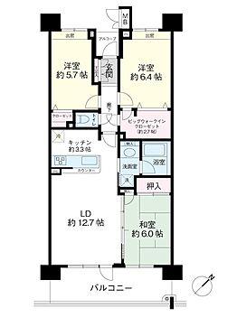 中古マンション-浦安市東野2丁目 11階(南東向き)77.70m2