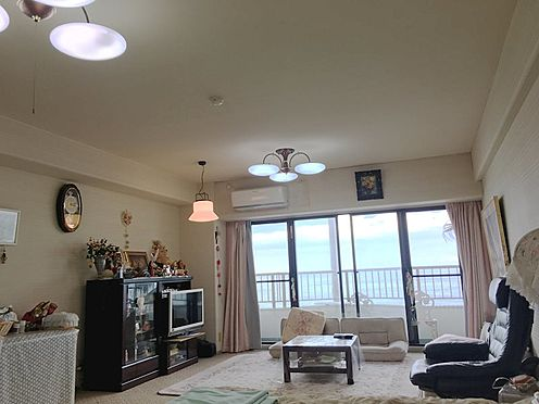 中古マンション-熱海市上多賀 海を望む東向き1Rのお部屋。館内にはゲストルームもございますので、ご友人はそちらにご宿泊頂けます。