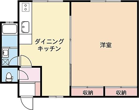 マンション(建物一部)-鎌倉市材木座6丁目 間取り