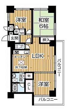 マンション(建物一部)-大阪市住吉区遠里小野5丁目 全居室二面開口の明るい室内