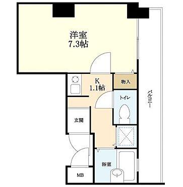 マンション(建物一部)-神戸市中央区八雲通1丁目 2点セパレートの1K