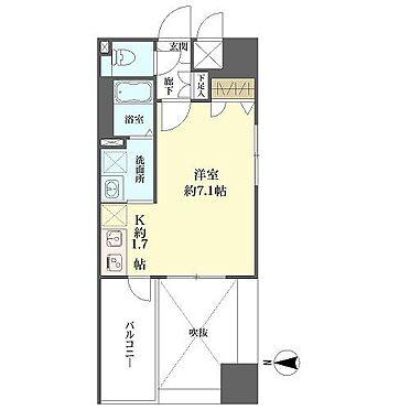 マンション(建物一部)-名古屋市中区伊勢山1丁目 間取り