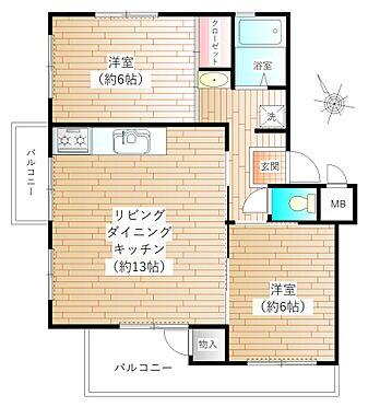 中古公団-町田市鶴川6丁目 オーナーチェンジ物件