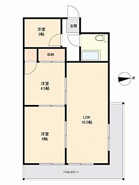 マンション(建物一部)-福山市南本庄2丁目 間取り