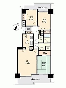 マンション(建物一部)-新潟市中央区南笹口1丁目 間取り