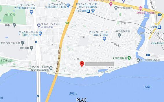 アパート-大田区羽田3丁目 間取り