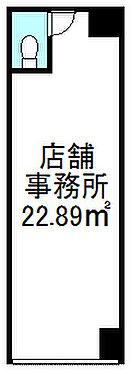 店舗(建物一部)-大阪市大正区三軒家東6丁目 間取り:1R 価格:690万円 専有面積:22.86平米(内法)現状、事務所使用軽飲食営業も可能です