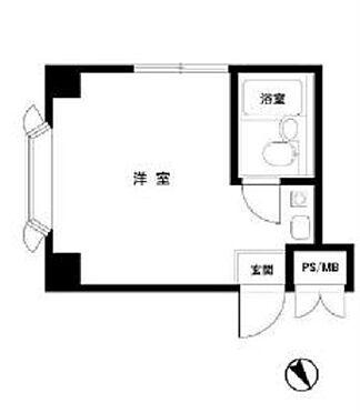 マンション(建物一部)-中野区松が丘1丁目 間取り図