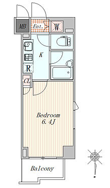 マンション(建物一部)-大田区西糀谷4丁目 1K 20平米 角部屋です