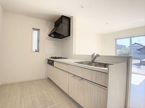 新築一戸建て-名古屋市守山区鳥羽見1丁目 収納充実のカウンターキッチン