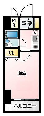 マンション(建物一部)-大阪市淀川区西中島1丁目 室内に洗濯機を置けるので便利です。