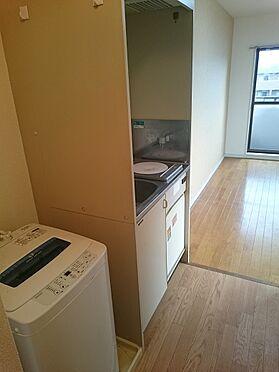マンション(建物一部)-八王子市千人町2丁目 洗濯機不要であれば撤去します。
