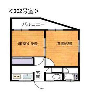 アパート-国分寺市東恋ヶ窪6丁目 間取り