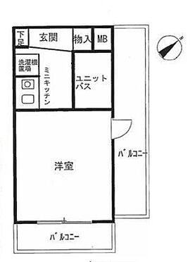 区分マンション-横浜市鶴見区生麦3丁目 間取り