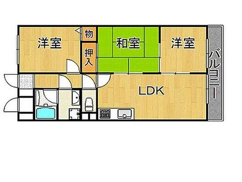 マンション(建物一部)-神戸市西区池上1丁目 収納が豊富な3LDK