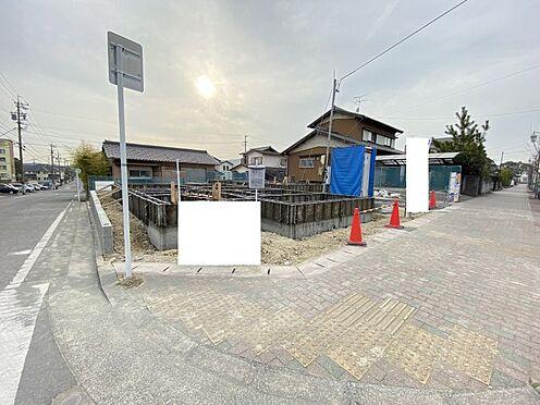 新築一戸建て-知多市つつじが丘1丁目 現地(2021年2月撮影)