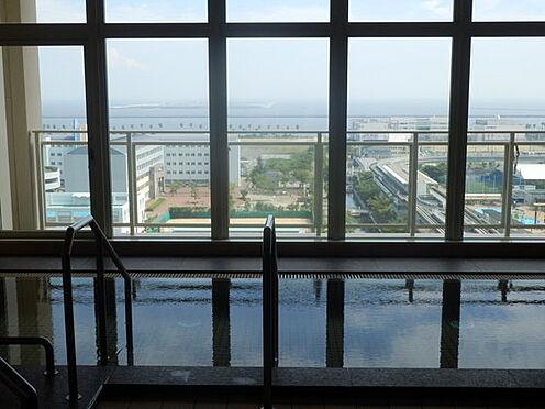 区分マンション-神戸市東灘区向洋町中3丁目 眺望良好の大浴場も