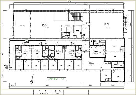 住宅付店舗(建物全部)-八街市八街ほ 店舗2階間取図