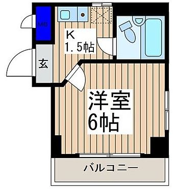 マンション(建物一部)-川越市熊野町 間取り