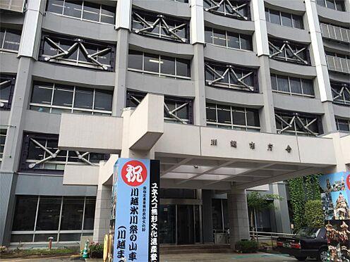 土地-川越市大字菅間 川越市役所(3018m)