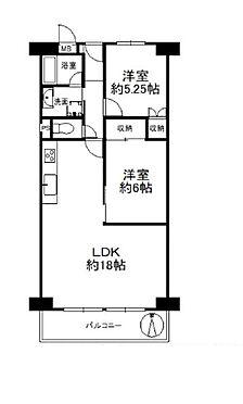 中古マンション-大阪市城東区中央3丁目 3階部分の南向きバルコニーです