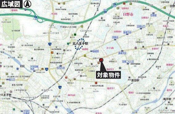 店舗(建物一部)-八王子市高倉町 地図