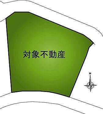 土地-伊東市富戸 区画図