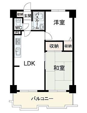マンション(建物一部)-神戸市東灘区本山南町4丁目 収納スペースやセパレートタイプなど人気の間取り