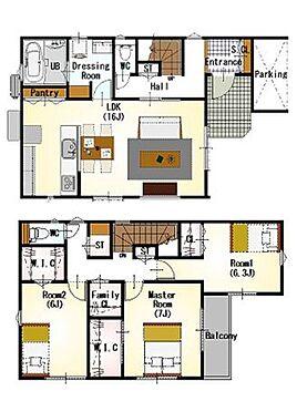 新築一戸建て-豊田市畝部東町川田 わたし好みの住宅で快適な生活を。壁や床の色味が違うだけでお部屋の印象をガラリと変えることが出来ます。