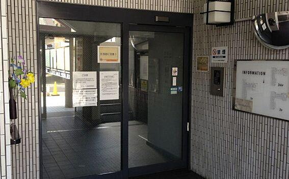 区分マンション-京都市東山区本町17丁目 オートロックを採用