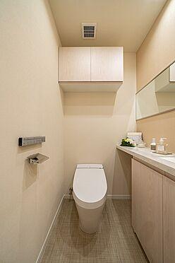 中古マンション-港区三田1丁目 手洗付タンクレストイレ