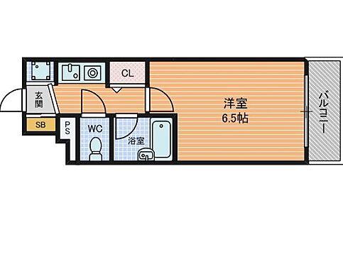 マンション(建物一部)-大阪市北区西天満4丁目 間取り