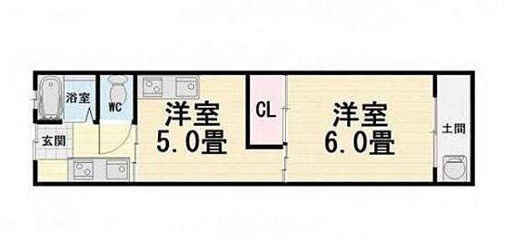 アパート-堺市西区浜寺石津町東5丁 間取り