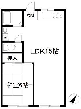 マンション(建物一部)-松戸市根木内 間取り