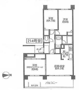 マンション(建物一部)-横浜市泉区上飯田町 間取り