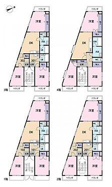 マンション(建物全部)-板橋区上板橋1丁目 間取り