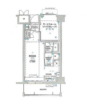 マンション(建物一部)-川崎市高津区末長4丁目 反転タイプです