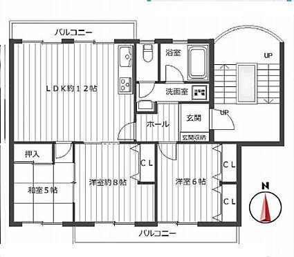 マンション(建物一部)-池田市渋谷3丁目 間取り